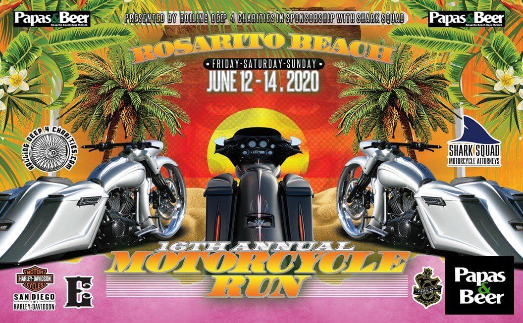 16th Annual Rosarito Beach Motorcycle Run