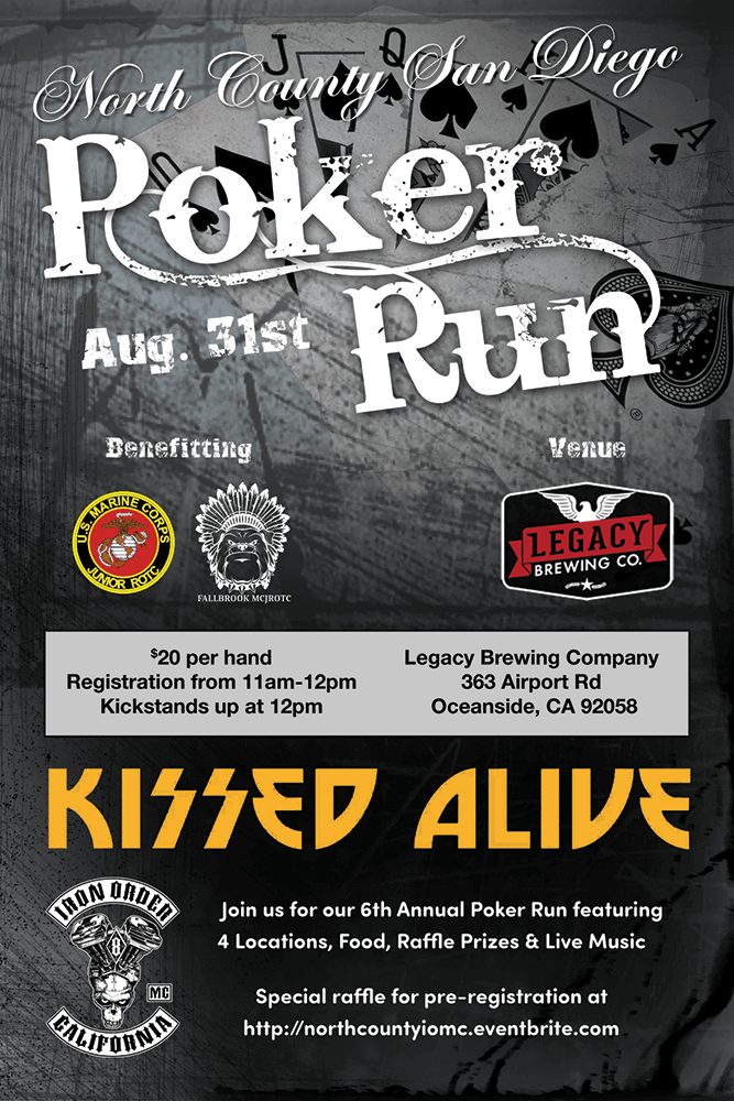 6th Annual North County San Diego Poker Run
