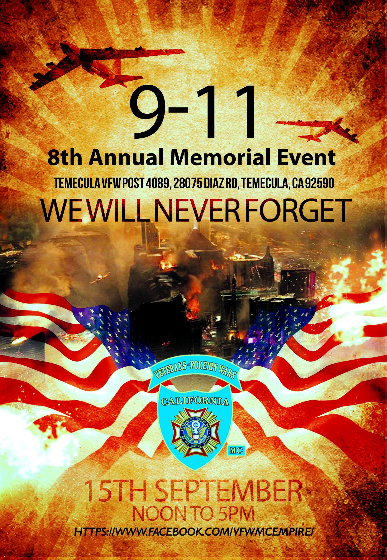 9-11 Memorial Event