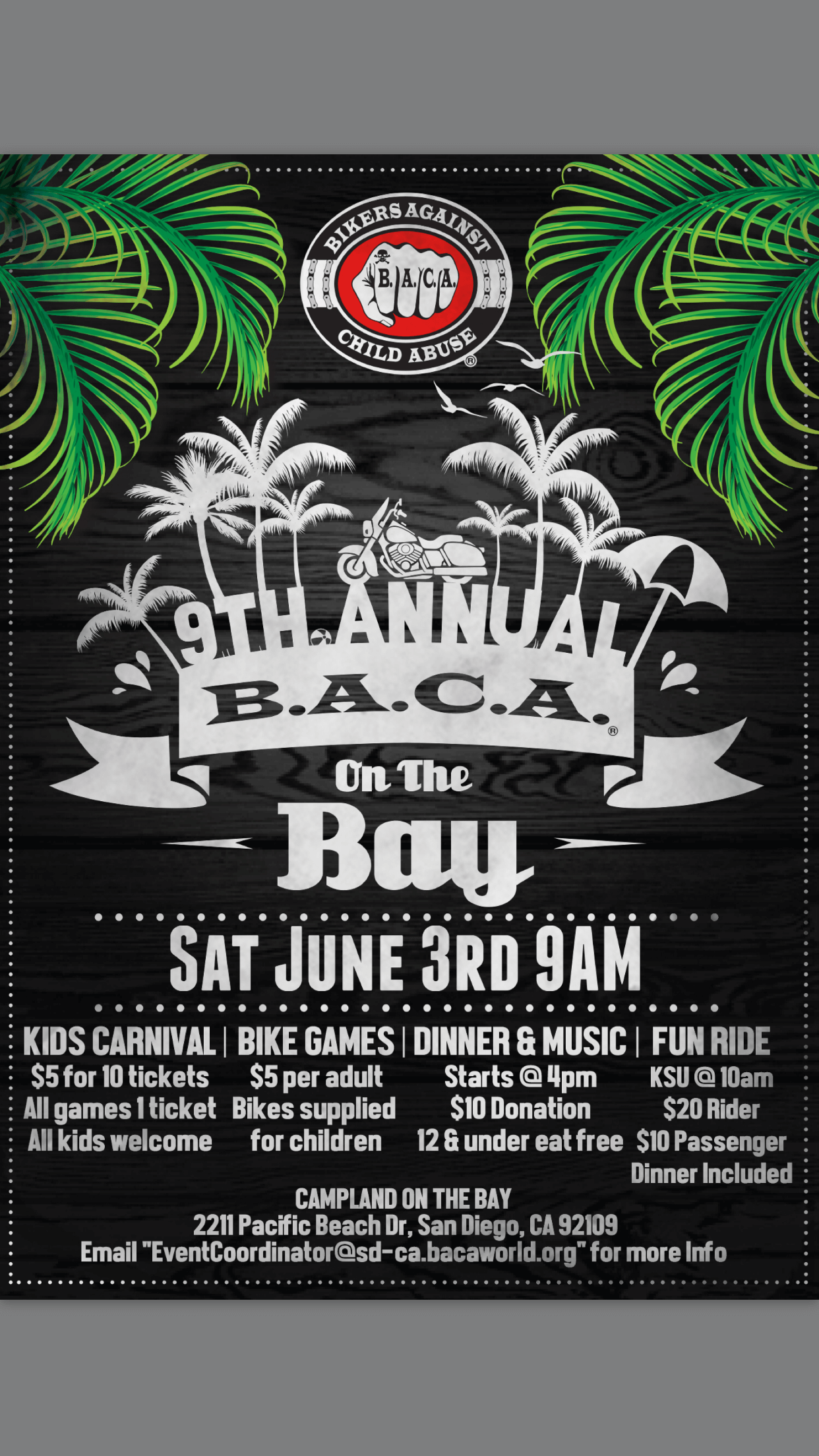 9th Annual BACA On The Bay