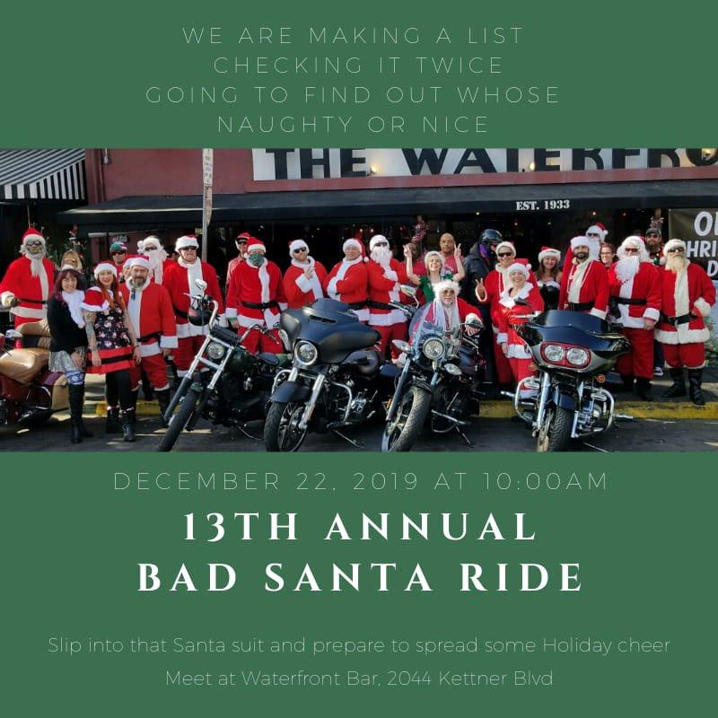 13th Annual Bad Santa Ride