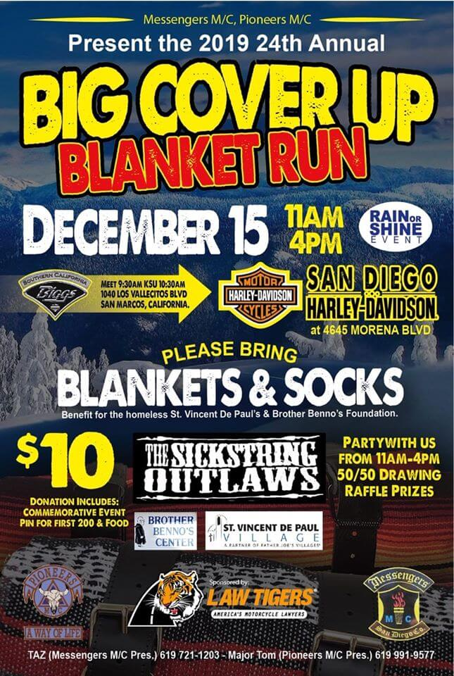 24th Annual Big Cover Up Blanket Run