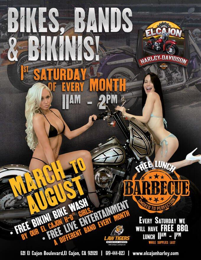 Bikes, Bands & Bikinis