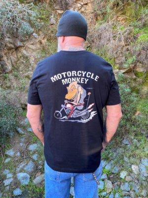 Black Retro T-Shirt