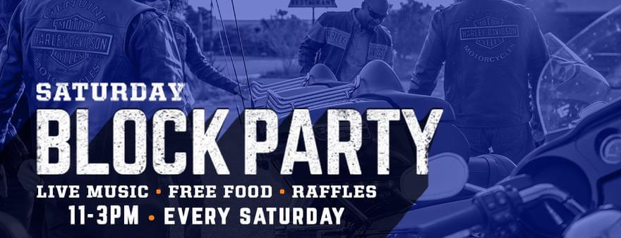 Coronado Beach Saturday Block Party
