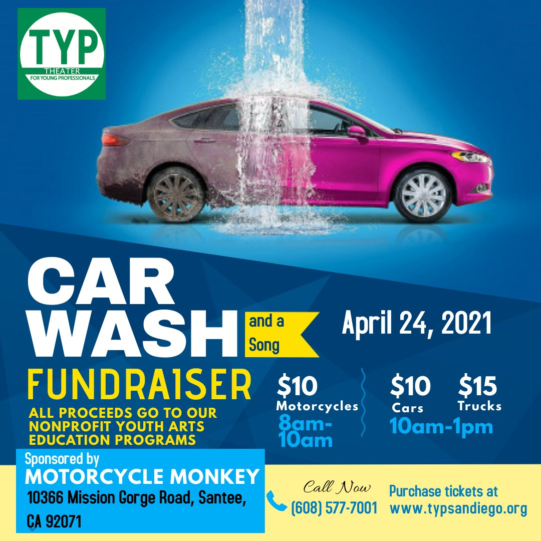 Bike and Car Wash Fundraiser for TYP!!!