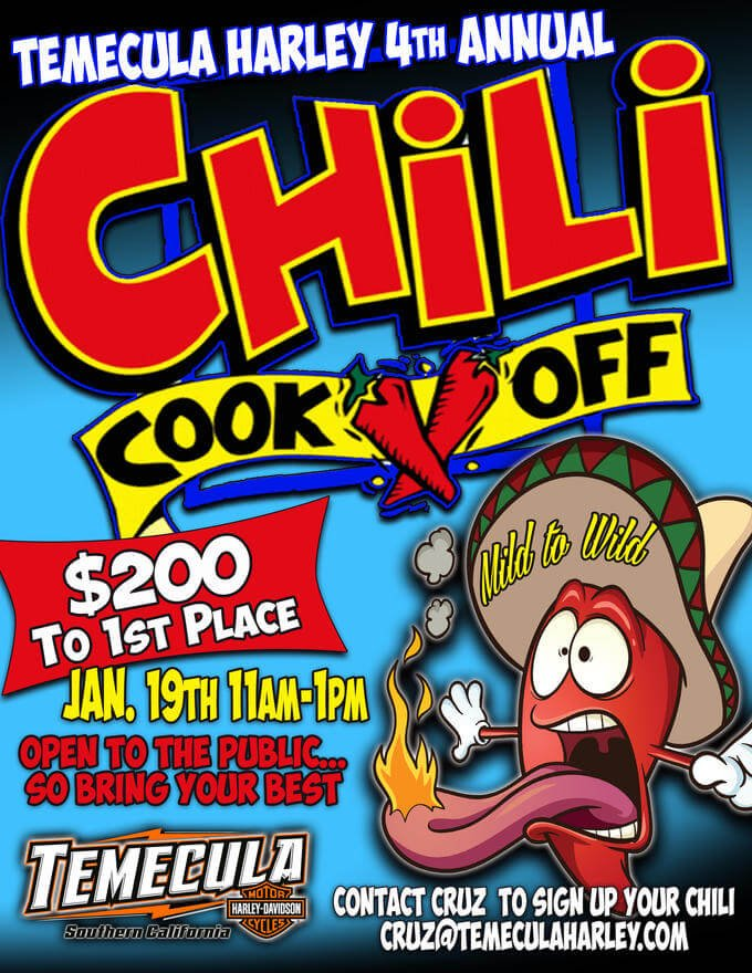 Temecula Harley 4th Annual Chili Cook-Off