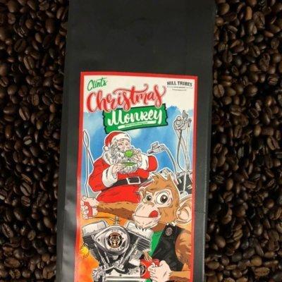 Christmas Monkey Coffee