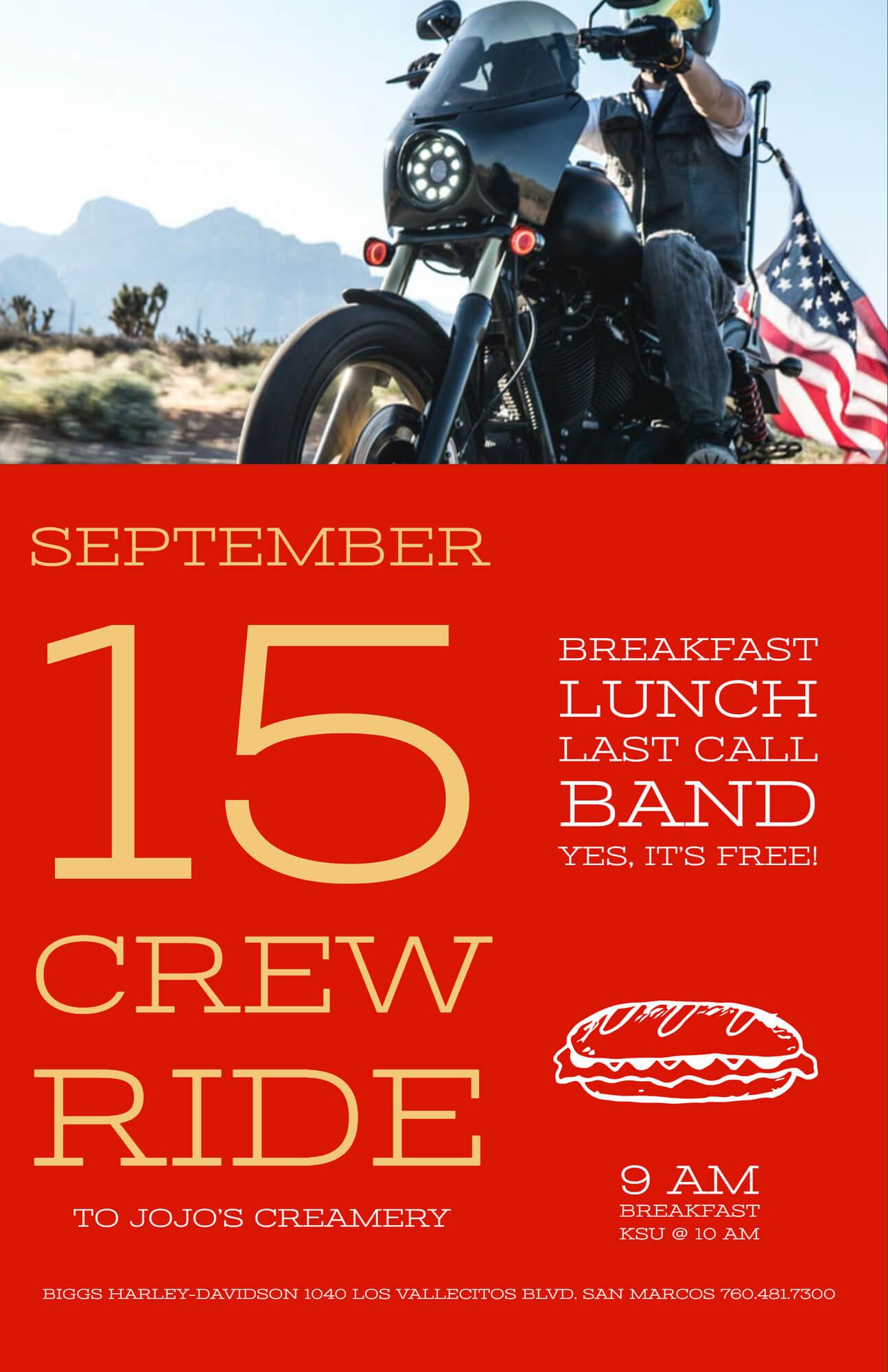 Crew Ride