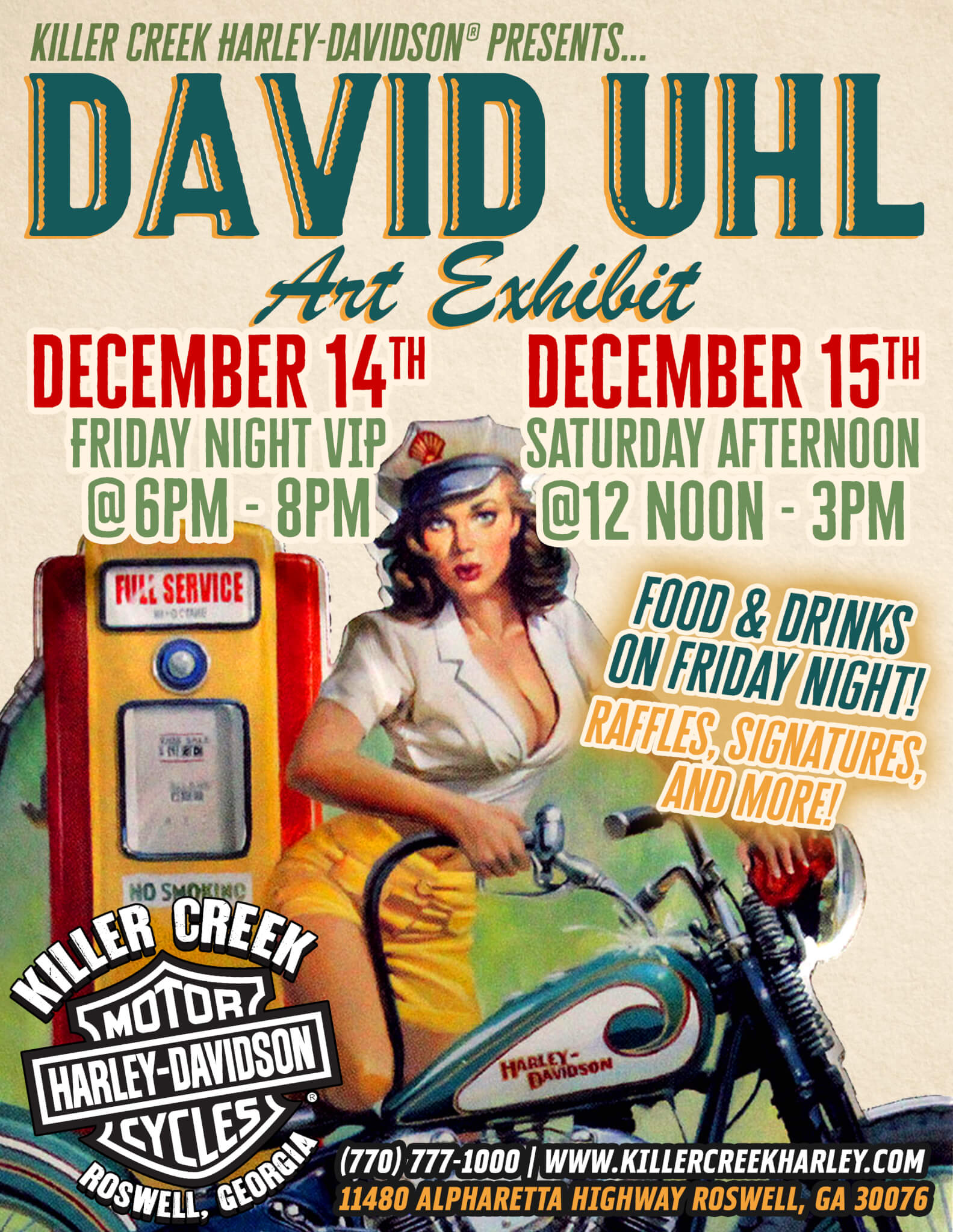 David Uhl Art Exhibit