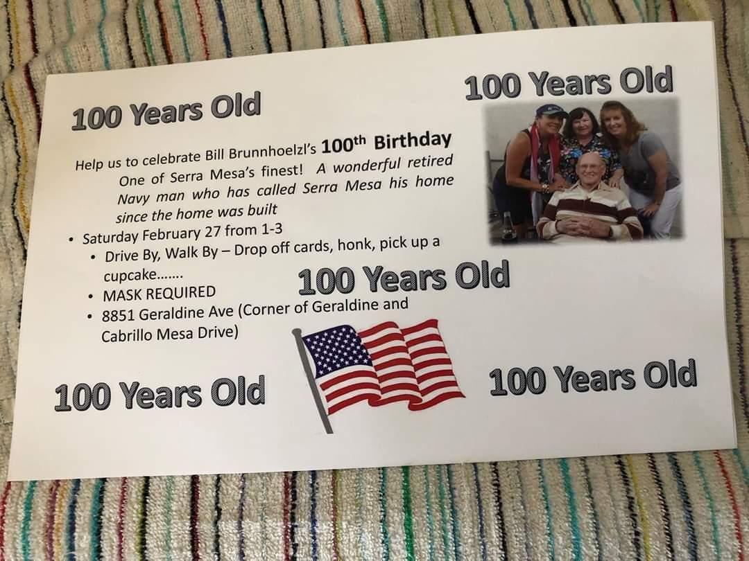 100 Year Old Birthday Parade!!!