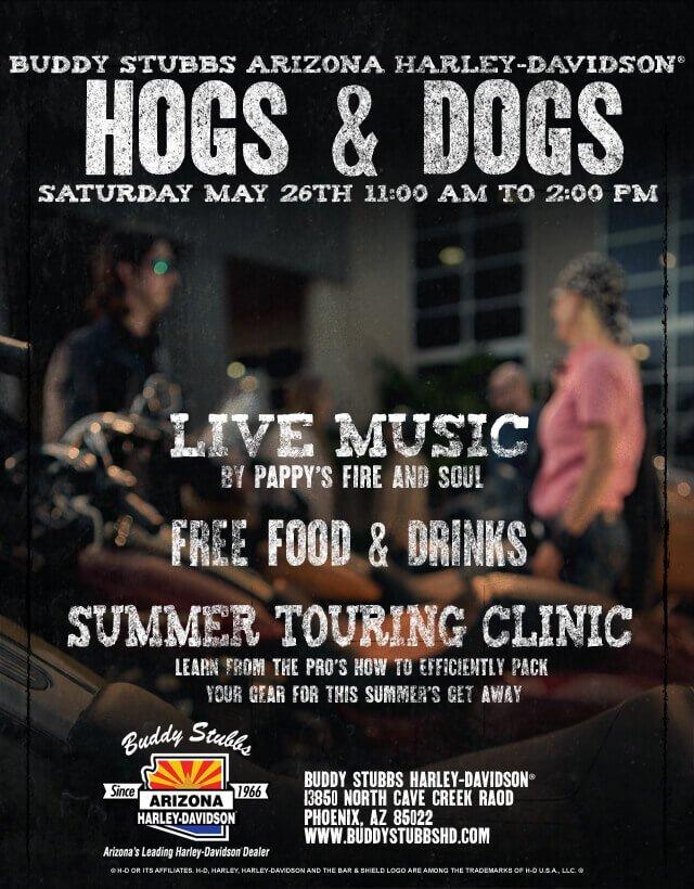 Buddy Stubbs AZ Hogs & Dogs