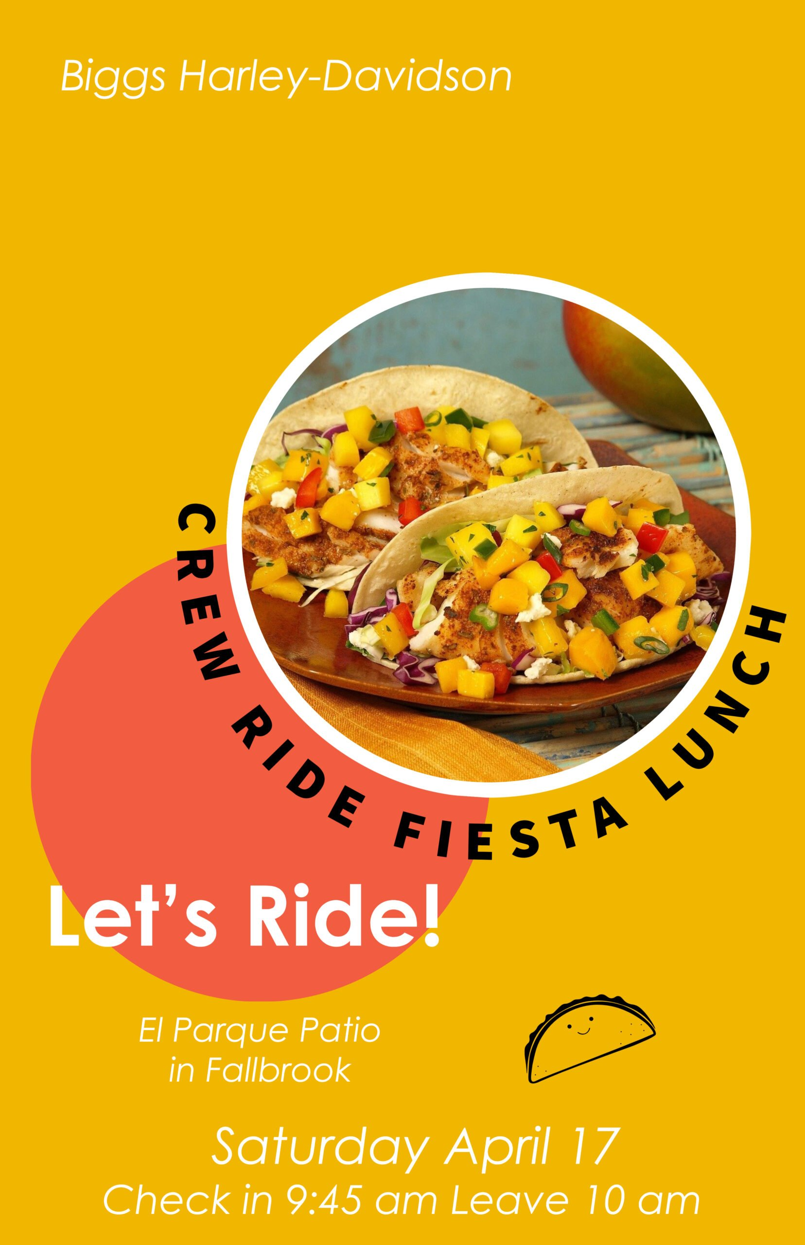 Biggs Crew Ride Fiesta Lunch