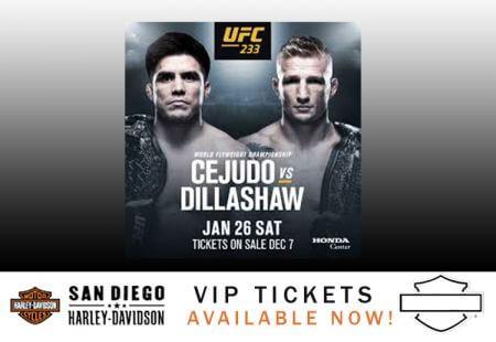 UFC 233 Fight Night