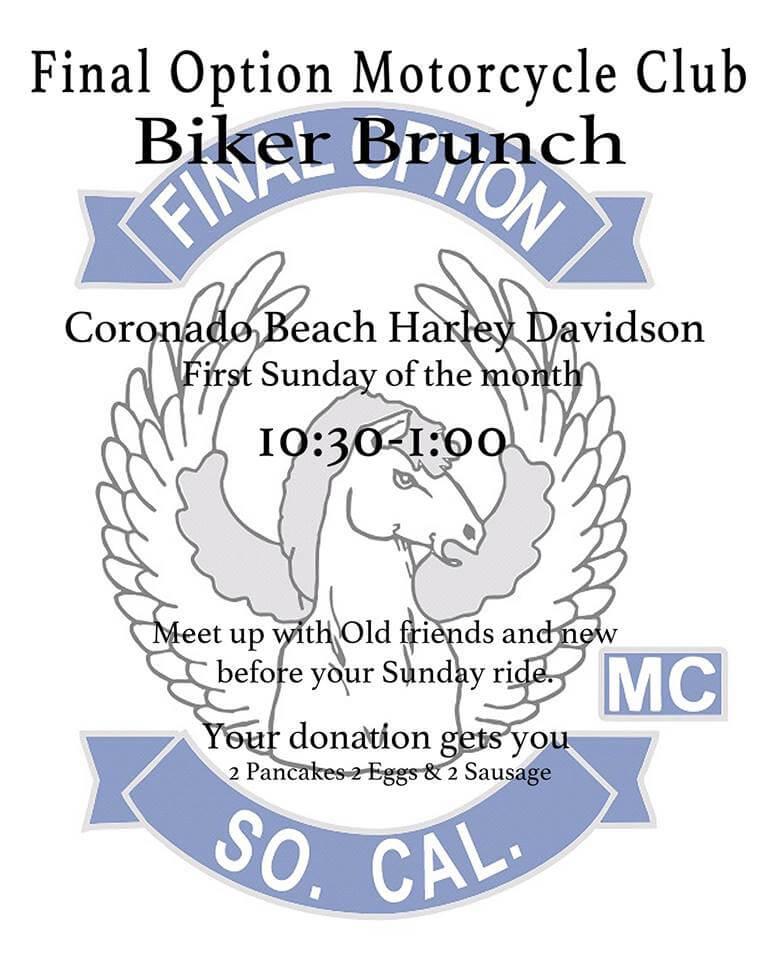 Final Option MC Biker Brunch
