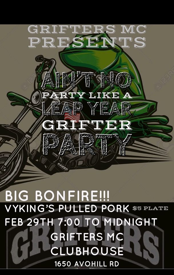 Ain't No Party Like A Leap Year Grifter Party