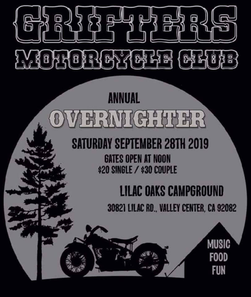 Grifters MC Annual Overnighter