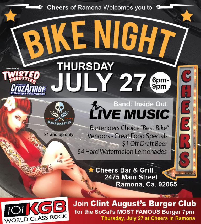 Bike Night Ramona CA