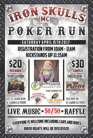 Iron Skulls MC Poker Run