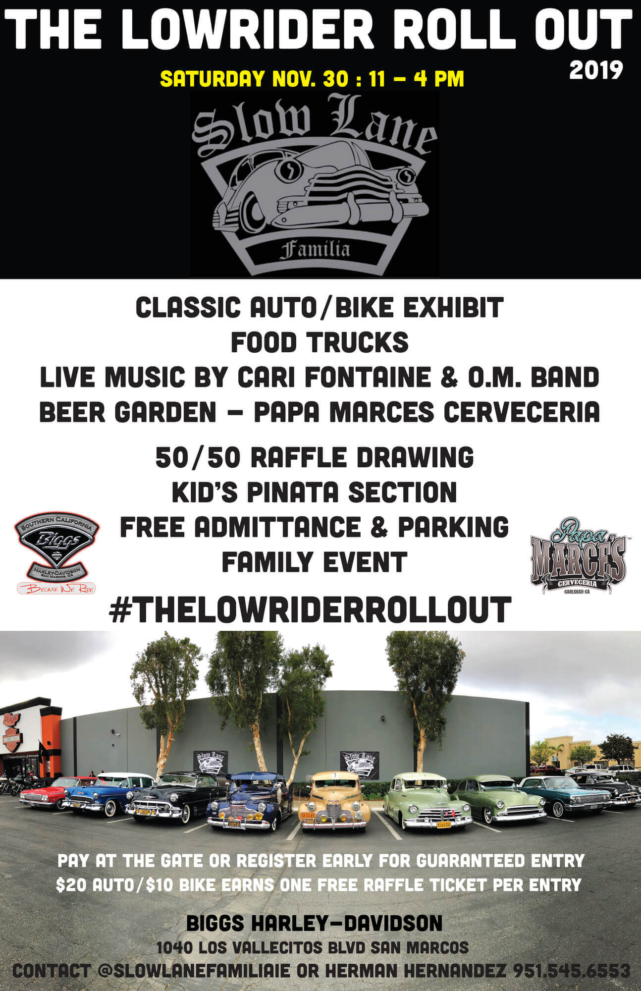 Lowrider Rollout