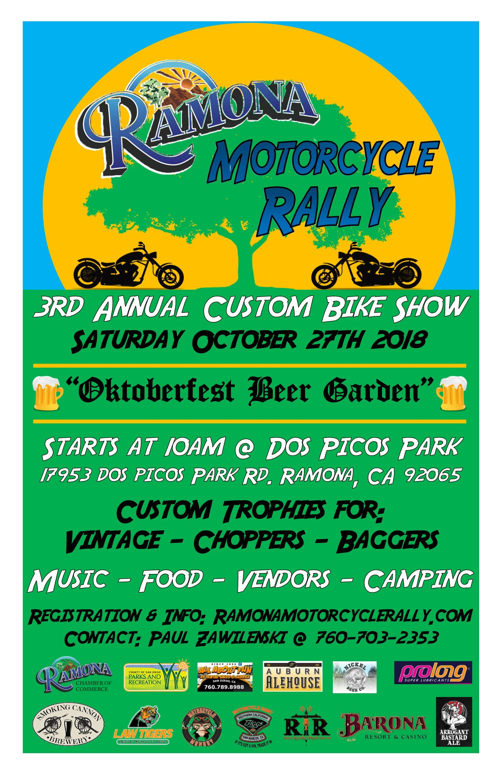 Ramona Motorcycle Rally & Custom Bike SHow