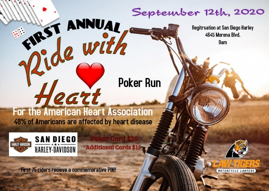 First Annual Ride With Heart