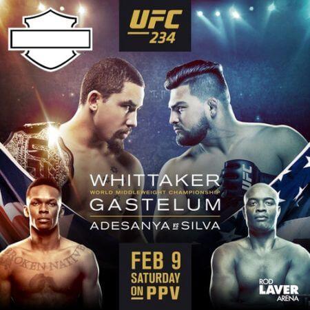 UFC 234 Fight Night