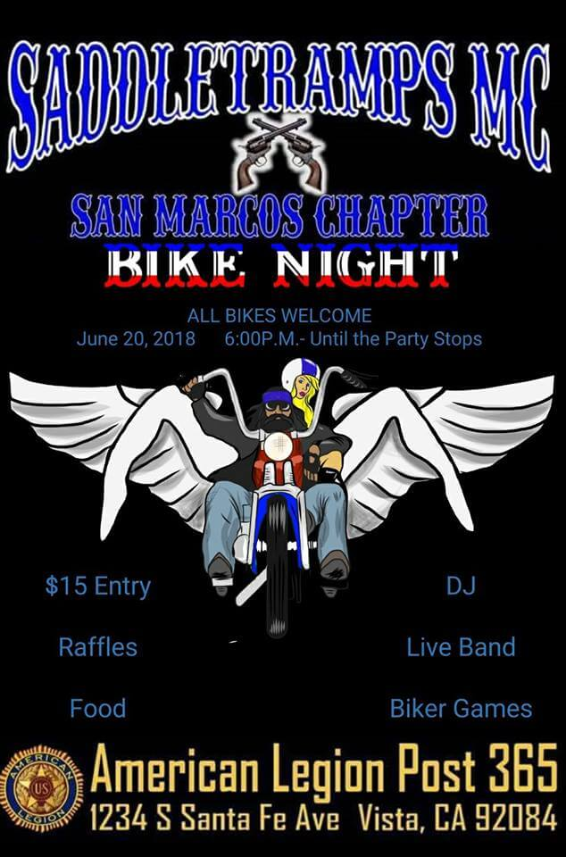 SADDLETRAMPS MC Bike Night