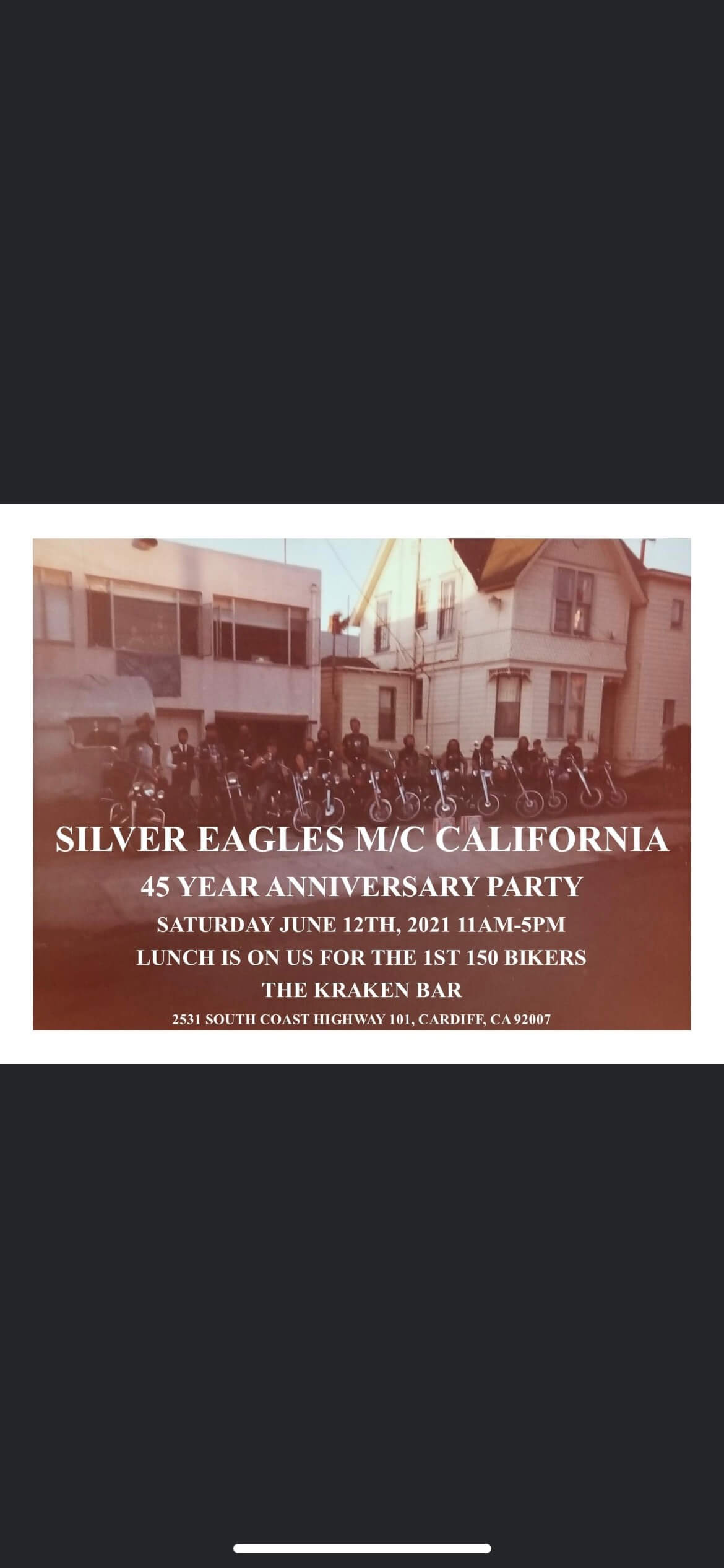 Silver Eagles MC 45 Year Anniversary Party