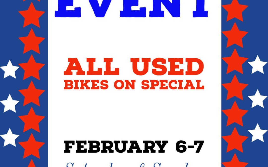 The Great American Used Bike Sale Event