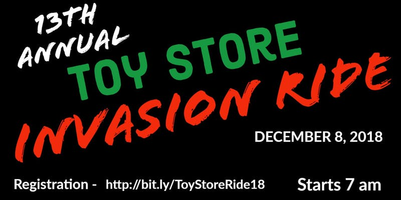 13th Annual Toy Store Invasion