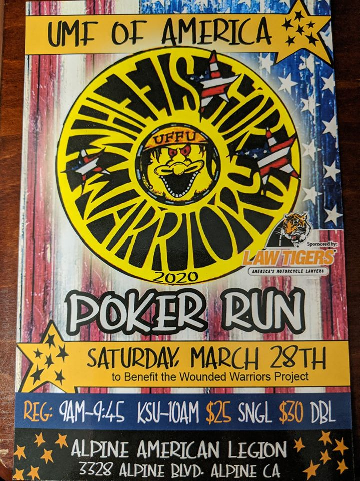 UMF Of America Poker Run