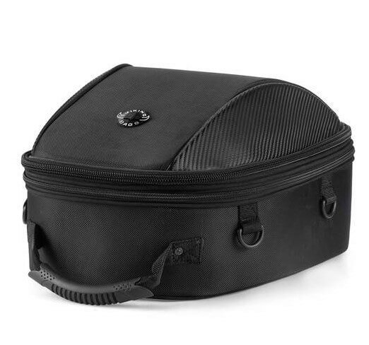 Viking Large Black Street/Sportbike Tail Bag