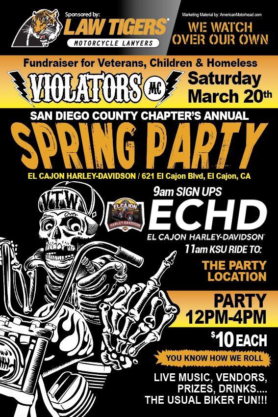 Violators MC Spring Party