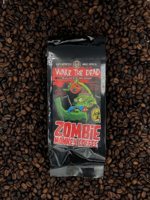 Zombie Monkey High Caffeine Coffee