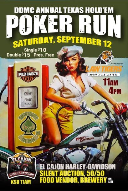Death Dealers MC Annual Poker Run