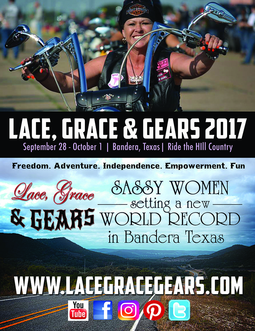 Lace, Grace & Gears 2nd Annual Rally