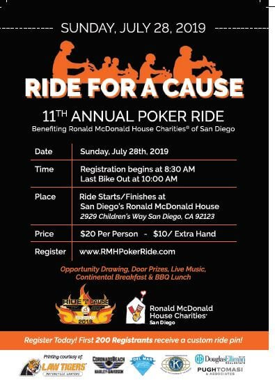11th Annual Ride For A Cause