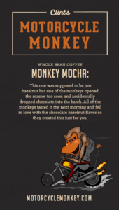 monkey mocha coffee