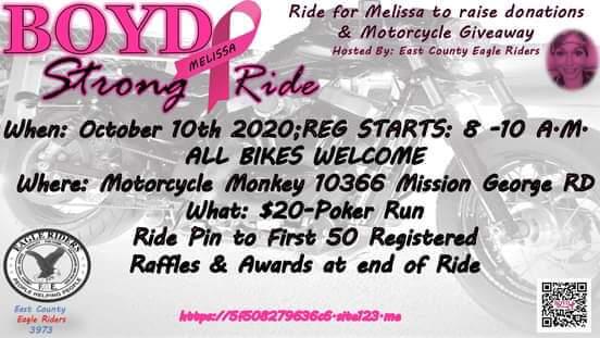 Melissa Boyd Strong Ride