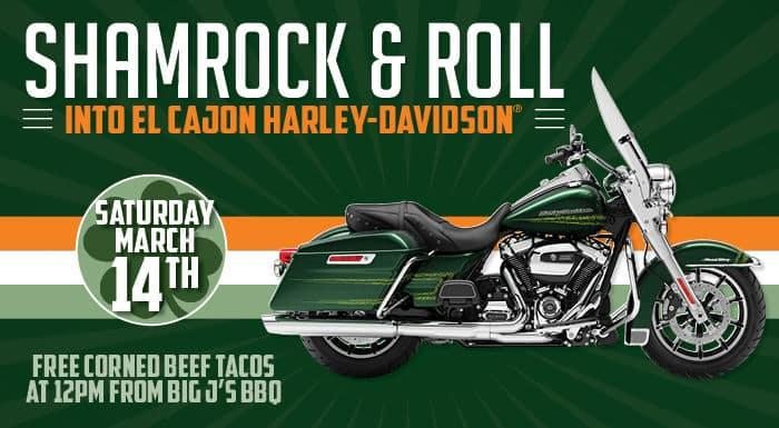 Shamrock And Roll El Cajon Harley