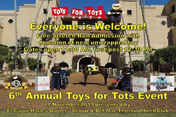 6th Annual Toys For Tots Event